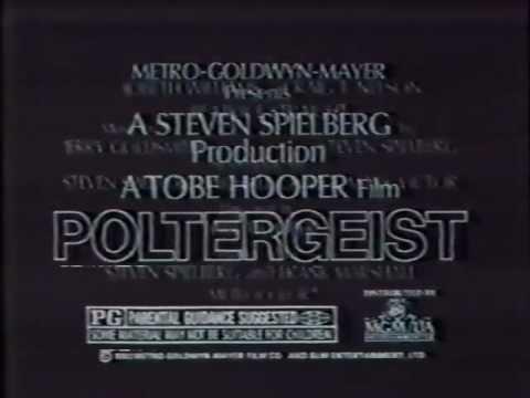 Poltergeist 1982 TV trailer