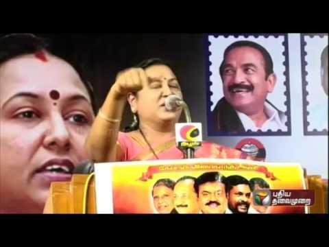 Vaakkala-Perumakkale-Premalatha-promises-various-posts-for-Vijayakanth-loyalists