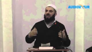 Si duhet të reagojn Muslimanët nëse ofendohen nga dikush - Hoxhë Enes Goga