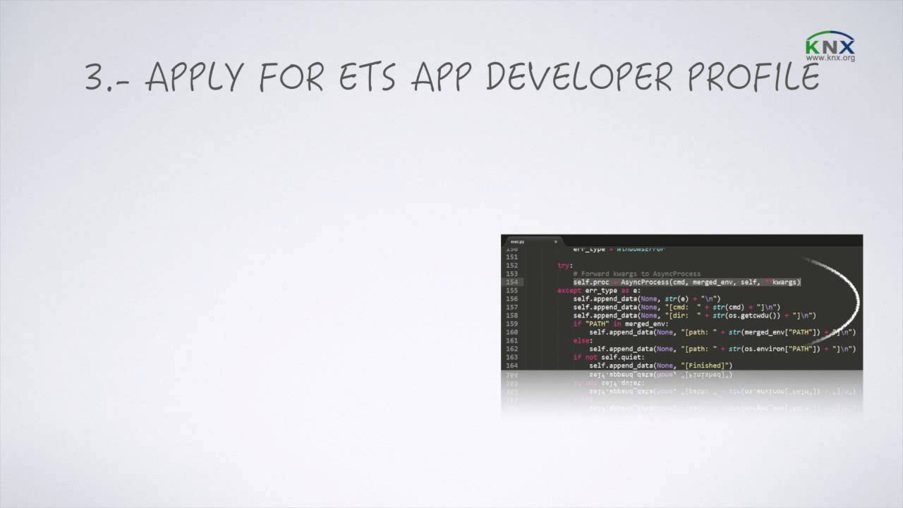 How to become an ETS App Developer