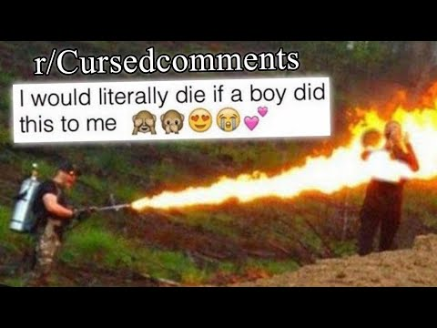 r/Cursedcomments | yes.