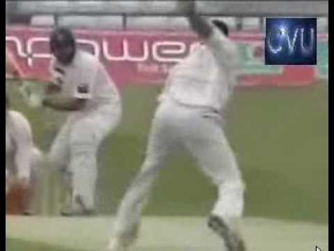 Inzamam Hit Wicket