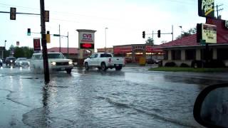 Benton (IL) United States  city photo : Benton Illinois street flooding