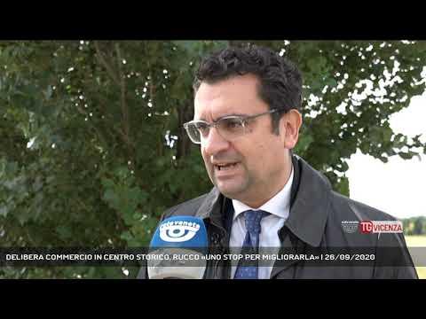 DELIBERA COMMERCIO IN CENTRO STORICO, RUCCO «UNO STOP PER MIGLIORARLA» | 26/09/2020