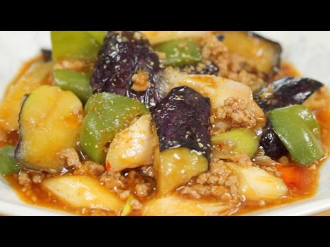 Mabo Nasu (Eggplant Stir-Fry Recipe) | Cooking With Dog