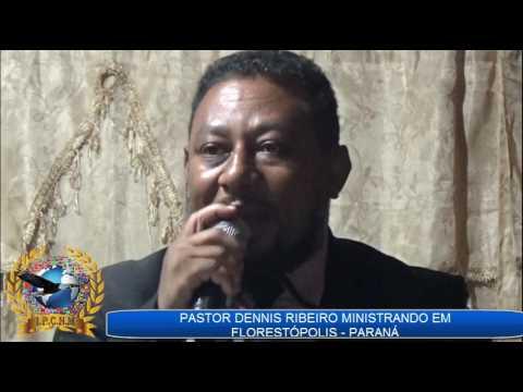 PASTOR DENNIS RIBEIRO MINISTRANDO NA IGREJA PONTE DE AMOR EM FLORESTÓPOLIS