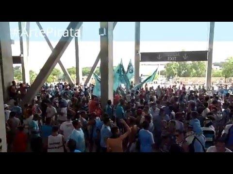 Previa + Entra la barra | Belgrano 0 Banfield 0 | 2016 | - Los Piratas Celestes de Alberdi - Belgrano