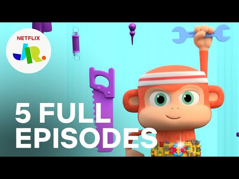 Chico Bon Bon Season 1 FULL EPISODE 5-10 Compilation 🙉 Netflix Jr