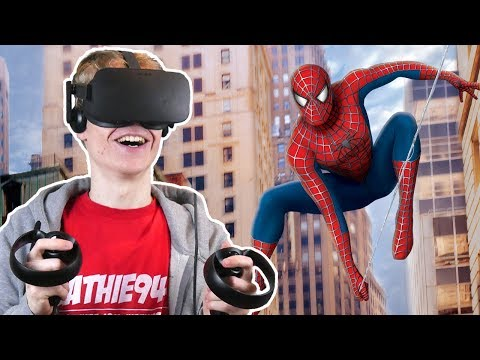 SPIDER-MAN SIMULATOR IN VIRTUAL REALITY! | Spider-Man: Homecoming VR (Oculus Touch Gameplay)