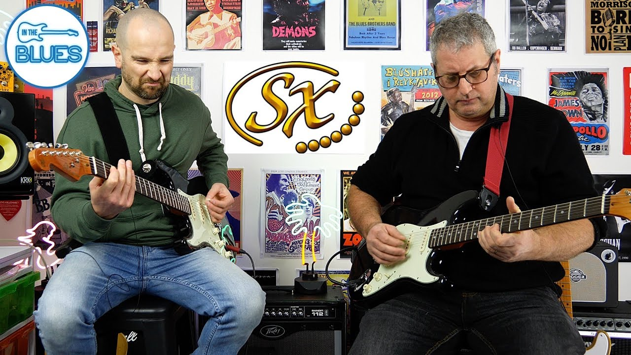 Shane & Alex – Jamming and Discussing SX Electric Guitars