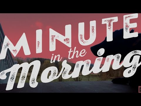 Morning Minute – Clouds Rolling