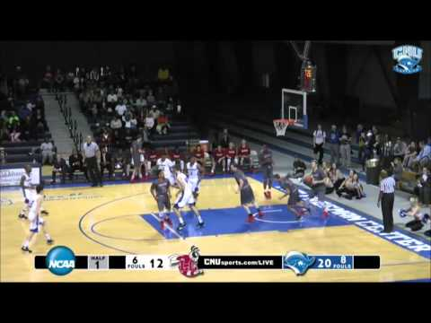 CNU Men's Basketball vs Lynchburg 11.15.15