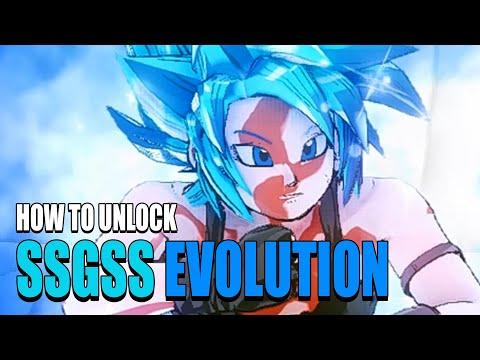 How To Unlock Super Saiyan Blue Evolution for CaC's! | Dragon Ball Xenoverse 2