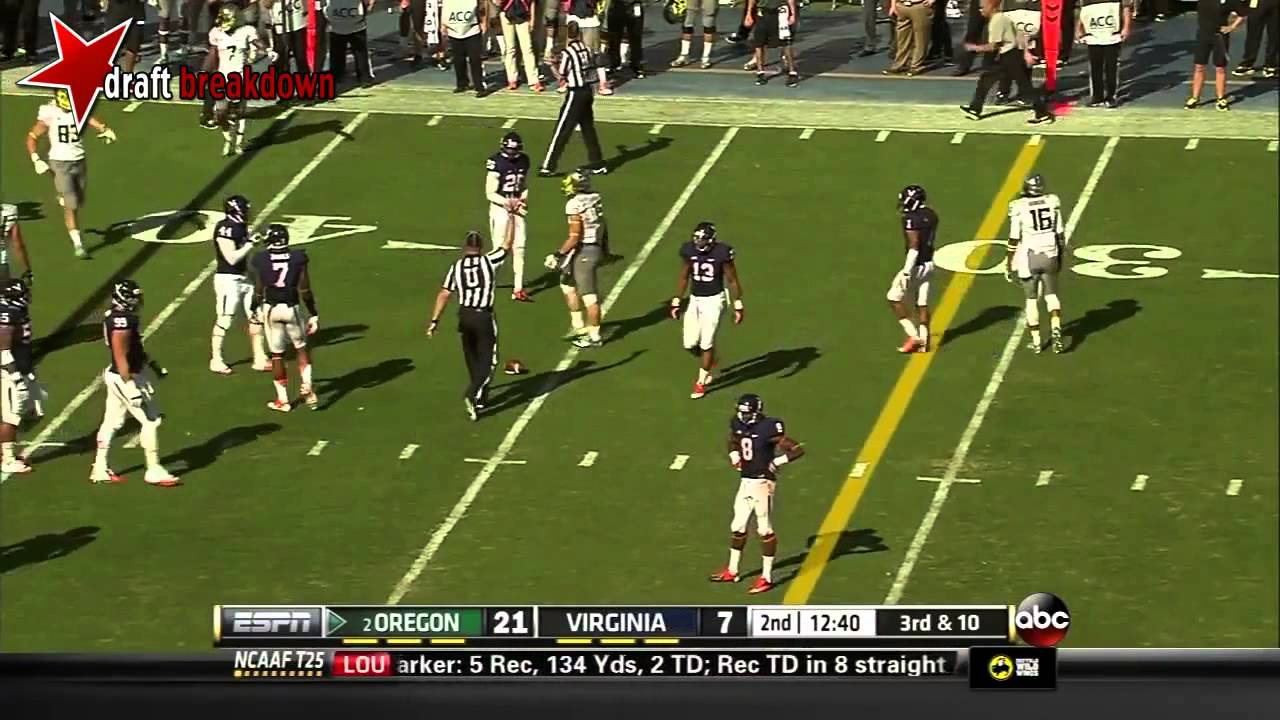 Marcus Mariota vs Virginia (2013)