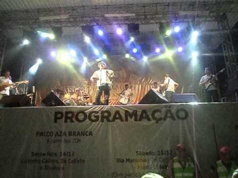 Edgar de Cedro no centenário do Gonzagão em Exu-PE, Romance Matuto 15 12 2012