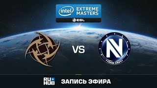 NiP vs Team EnVyUs - IEM Oakland 2017 - de_nuke [Crystalmay, sleepsomewhile]