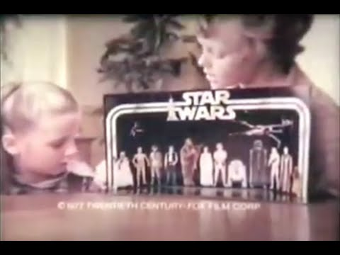 Star Wars All 1977 Kenner Toy Commercials