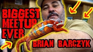 Biggest Reptile Meetup Ever! Live Feeding with Reptiles Uncaged by Prehistoric Pets TV