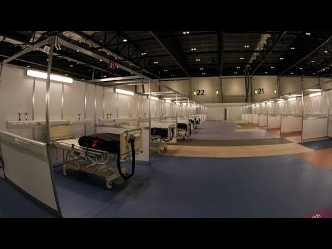 COVID-19: Το πρώτο αυτοσχέδιο νοσοκομείο στο Λονδίνο
