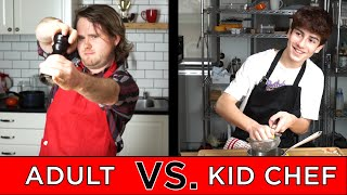Video Kid Professional Chef Vs. Adult Chef MP3, 3GP, MP4, WEBM, AVI, FLV Januari 2019
