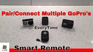 Video How To Connect/Pair With Multiple Gopro Camera With A Smart Remote MP3, 3GP, MP4, WEBM, AVI, FLV September 2018