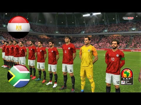 PES 2019 | EGYPT vs SOUTH AFRICA | Africa Cup