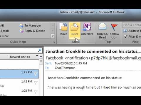 how to set leave message in outlook 2013