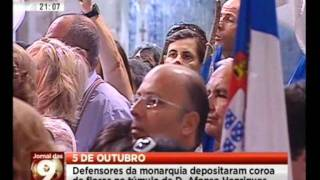 Monárquicos em Coimbra celebram fundação de Portugal