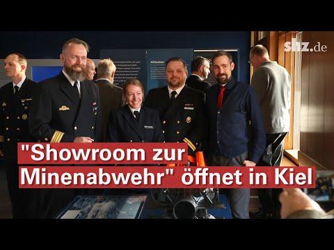 Neuer Showroom zur Minenabwehr in Kiel: Das Minensuch ...
