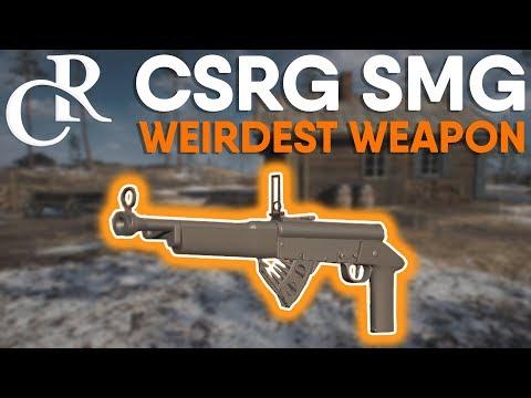 NEW Assault SMG - CRSG - The WEIRDEST Weapon in Battlefield 1! - Battlefield 1 Apocalypse DLC
