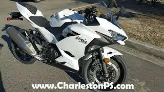 9. 2020 Kawasaki Ninja® 400 ABS Pearl Blizzard White