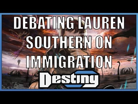 Debating Lauren Southern on immigration