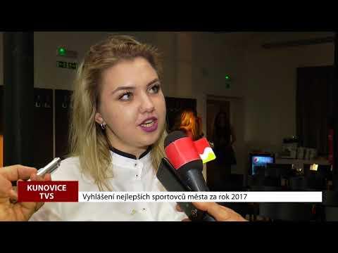 TVS: Kunovice - Sportovec města za rok 2017