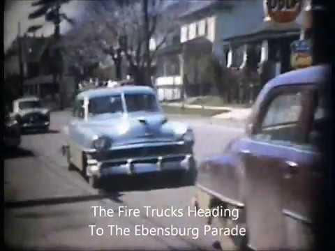 PF 40 1958 Wedding & Ebensburg Parade, Ebensburg PA