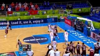 Highlights Montenegro-Latvia EuroBasket 2013
