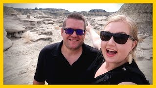 THIS is BLM Land! Aztec Ruins, Landyn's FIRST Haircut & Bisti Badlands! 😊 Full Time Travel Family