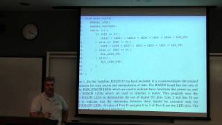 Embedded Systems Course - Lecture 03:  Concepts of Microcontrollers, Part 2