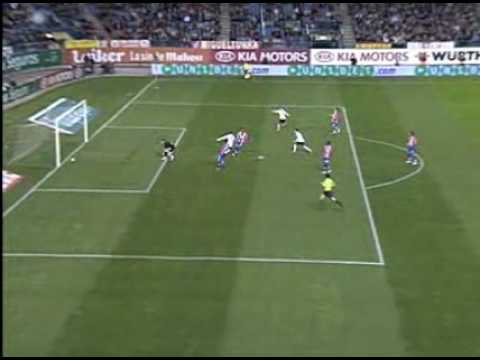 Atletico de Madrid 3 - 2 Valencia CF (2-1 David Villa)