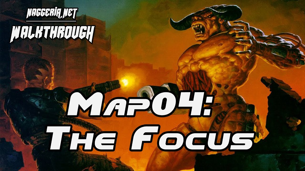 "[Doom 2 Komplettlösung] Map04: ""The Focus"" Walkthrough (Ultra-Violence)"