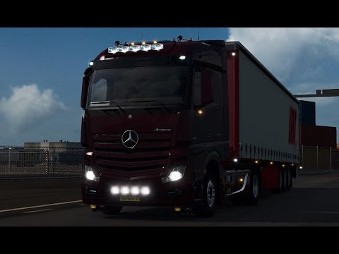 MB Actros MP4 Addons