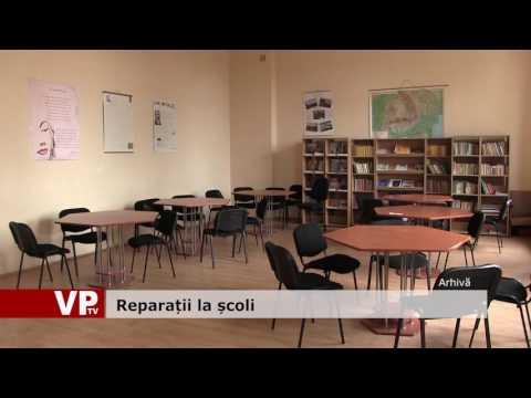 Reparații la școli