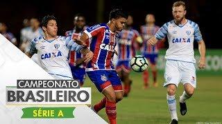 Com gols de Renê Júnior para o Bahia e Junior Dutra para o Avaí, as equipes terminaram empatadas em 1 a 1 no Pituaçu, pela...