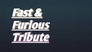 Nonton Fast and Furious Tribute i will return Film Subtitle Indonesia Streaming Movie Download