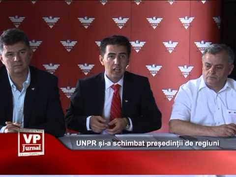 UNPR și-a schimbat președinții de regiuni