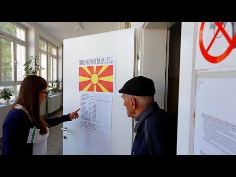 Nordmazedonien: Stichwahl - die Präsidentenwahl geht  ...