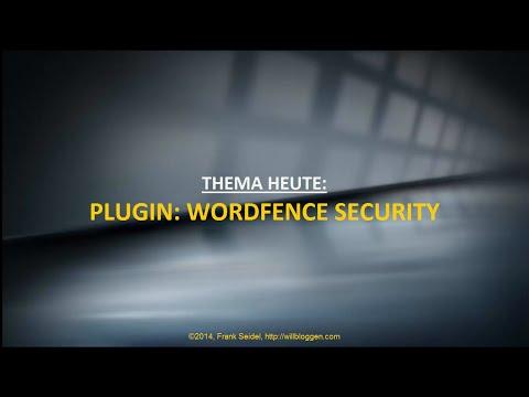 WordPress-Plugin: WordFence Security