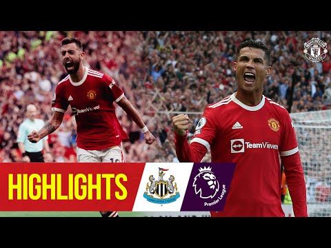 Ronaldo strikes as United hit Newcastle for four | Highlights | Manchester United 4-1 Newcastle