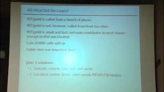 Lec 22 | MIT 6.172 Performance Engineering Of Software Systems, Fall 2010