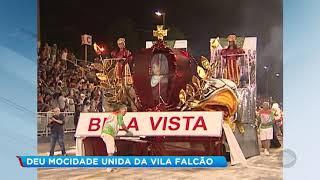Mocidade Unida da Vila Falcão é campeã do Carnaval 2019 de Bauru