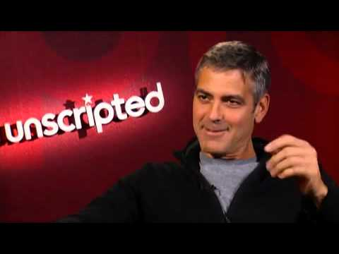 Krasinski - George Clooney and John Krasinski interview each other and answer questions from viewers about their movie, Leatherheads.